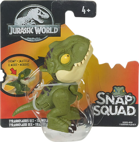 Mattel GKX72 Jurassic World Schnapp-Dinos Sortiment