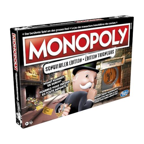 Hasbro E1871149 Monopoly Mogeln und Mauscheln Schweiz Edition