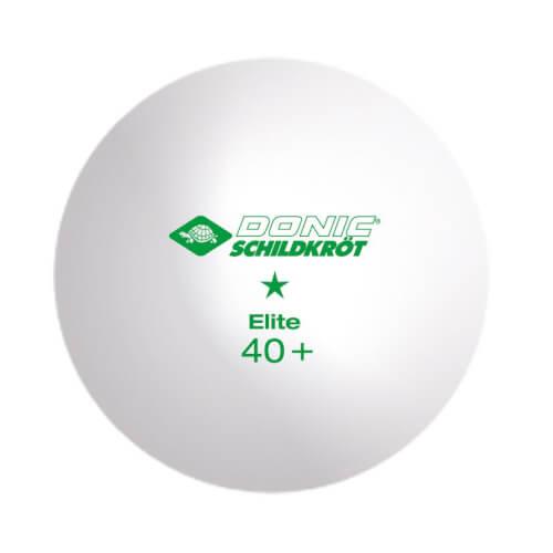 Donic Schildkröt 1-Stern Elite Poly 40+ Ball