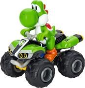 Carrera RC - Mario Kart # Yoshi auf Quad, ca. 19x20 cm, ab 6 Jahre