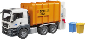 Bruder MAN TGS Müll-LKW Hecklader, ab 3 Jahren, Maße: 50,8 x 18,5 x 21,6 cm, Kunststoff & Plastik