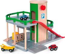 BRIO Parkhaus, Straßen&Schienen