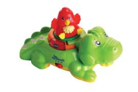 Vtech 80-510704 ZoomiZooz - Huckepack-Krokodil