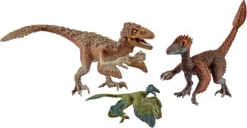 Schleich Dinosaurs - 42347 Gefiederte Raptoren, ab 5 Jahre