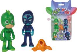 Simba PJ Masks - Figuren-Set ''Gecko und Ninja'', ca. 8 cm