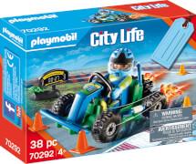 PLAYMOBIL 70292 Geschenkset ''Go Kart-Rennen''