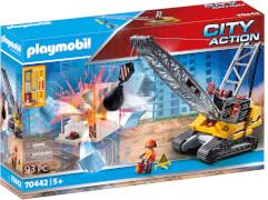 PLAYMOBIL 70442 Seilbagger mit Bauteil