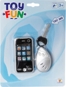Toy Fun Mobile Phone mit Autoschlüssel