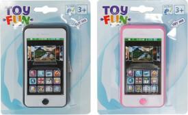Toy Fun Smartphone mit Sound, 2-fach sortiert