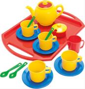 Spiel-Teeset inklusive Tablett, 18-teilig