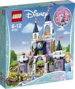 LEGO® Disney Princess 41154 Cinderellas Traumschloss, 585 Teile, ab 6 Jahre