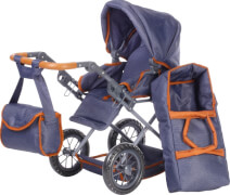 Puppenwagen Ruby - dark blue