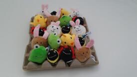 Sortiment Frühjahr/Ostern in der Eierschachtel