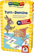 Schmidt Spiele Ene Mene Muh Turn-Domino Bring-Mich-Mit-Spiele in der Metalldose