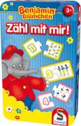 Schmidt Spiele 51407 Benjamin Blümchen, Zähl mit mir!, 1 bis 3 Spieler, ab 3 Jahre