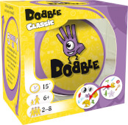Asmodee - Dobble, ab 6 Jahren, 2 bis 8 Spieler