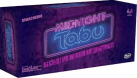 Hasbro C0418100 Tabu Midnight, ab 4 Spieler, ab 18 Jahren