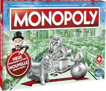 Hasbro C1009149 Monopoly Classic - Schweiz Version
