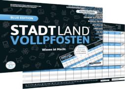 DENKRIESEN - STADT LAND VOLLPFOSTEN® - BLUE EDITION - Wissen ist Macht