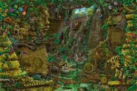 Ravensburger 199518 Puzzle: Exit 2: Tempel in Ankor 759 Teile, Escape Room Puzzle