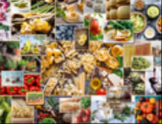 Ravensburger 15016 Puzzle: Food Collage 2000 Teile