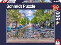 Schmidt Spiele Puzzle Amsterdam 500 Teile