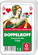 ASS Kartenspiel Doppelkopf, französisches Bild, 48 Karten, ca. 59x91 mm, 4-5 Spieler, ab 10 Jahre