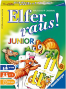 Ravensburger 207602  Elfer raus! Junior, Kinderspiel