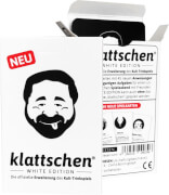 DENKRIESEN - klattschen® - WHITE EDITION - Die offizielle Erweiterung des Kult-Trinkspiels