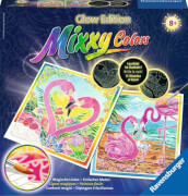 Ravensburger 29129 Mixxy Colors Traumhafte Flamingos
