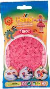 HAMA Bügelperlen Midi - Transparent Pink 1000 Perlen