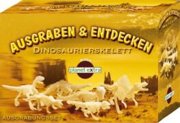 Ausgrabungsset Dinosaurier - Dinoskelett klein