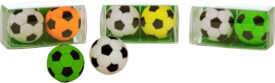 Trendhouse 938756 - Radierer Kick-It Fußball, 2er Set, Radiergummi, ca. 4.5x2.3x2.3 cm, ab 3 Jahren