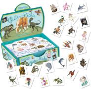 TapirElla Mini-Glitter-Sticker-Set 1, 480, ab 3 Jahren.