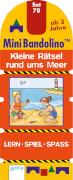 Arena Mini Bandolino - Set 78: Kleine Rätsel rund ums Meer, Pappe, 12 Seiten, ab 3-6 Jahren