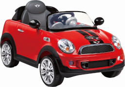 Rollplay MINI Cooper S Roadster, 12V, RC, red