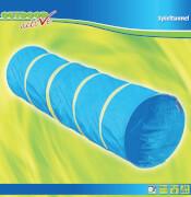 Outdoor active Spieltunnel, blau, # 60x200 cm, ca. 64x64x3,5 cm, ab 24 Monaten