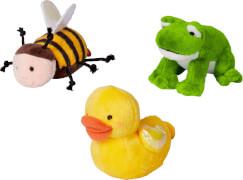 Frosch, Ente, Biene zum Aufziehen Fröhliche Ostern, sortiert nicht frei wählbar