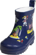 Playshoes Gummistiefel Allover-Pirateninsel, Gr. 25