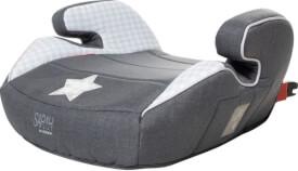 Sarah Harrison Auto-Sitzerhöhung ''Junior Isofix'' (Star), 15 - 36 kg, ca. 20x43x43 cm, grau