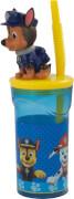 P:OS Paw Patrol 3D Trinkbecher mit Strohhalm